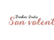 Freebies para valentin