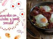 Huevos rotos patatas fritas jamón serrano