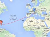 Atravesando atlantico