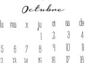 ¡Bienvenido octubre! Freebies