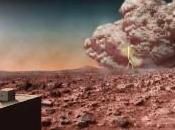 Tormentas polvo marcianas: realidad ficción