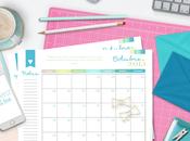 Calendario Mensual Octubre, para descargar GRATIS!!