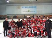 Hockey Hielo: Aramón Jaca Campeón Liga 20.Ganó Sebastián (2-9) alcanzó título.