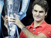 Federer frustra Nadal coronándose 'maestro' quinta