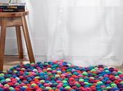 DIY: alfombra pompones