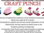 Nuevas perforadoras troqueladoras CRAFT PUNCH