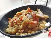 Arroz champiñones jamón serrano (Olla GM-E tradicional)