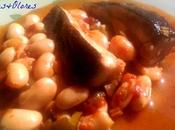 Rodaballo judiones salsa cherrys pimenton