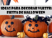 ideas para decorar vuestra Fiesta Halloween