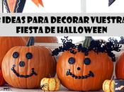 ideas para decorar vuestra Fiesta Halloween
