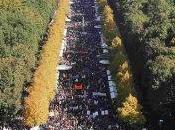 Protestas Berlín contra TTIP expolio trabajadores.