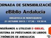 Jornada sensibilización eBiblio Andalucía