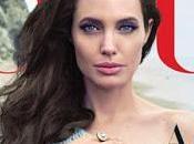 Angelina Jolie familia posan para Vogue
