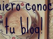 ¡Quiero conocer blog! rincón entre libros.