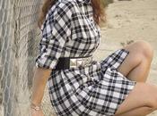 Vestido Cuadros-Plaid Dress