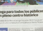 Yoga Plaza Diario Málaga. Emilio Morales. Gracias.