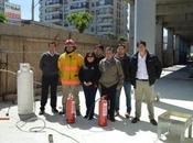 #Bomberos realizó exitosa capacitación seguridad trabajadores #MallMarinaArauco