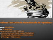 Defensa Tesis Doctoral: Macrofilosofía Capitalismo
