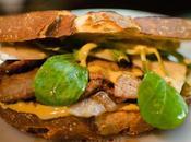 Sandwich ternera mayonesa mostaza [Recetas andar casa]