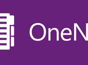 OneNote sido actualizado para Windows