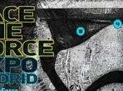 Inauguración exposición star wars, face force