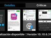 actualizado v10.10.6.31 para BlackBerry