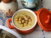 Sopa griega garbanzos