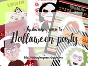 Invitaciones para Halloween party.