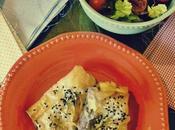 Rollitos cebollas queso azul