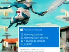 Windows pone agresivo! Instala saco ojos