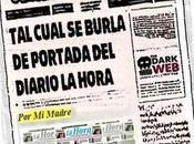Cual burla mofa portada Diario Hora Porlamar