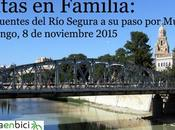 Rutas familia: puentes Segura paso Murcia