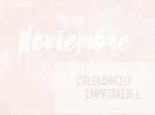 Calendario noviembre
