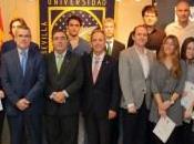 rector entrega premios Olimpiada economía empresa Universidad Pablo Olavide