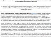Acuerdo Yoigo firmado Infovista mejoran Servicios Telefonia