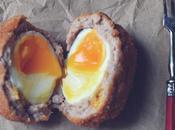 Huevos escoceses estilo Blumenthal
