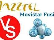 Movistar Fusión Frente Jazztel Simétricos.