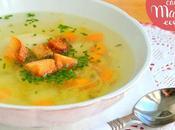Sopa caldo pollo (Olla Olla rápida, tradicional)