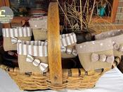 Conjunto cestas