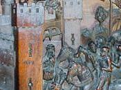 Sillería Baja coro Catedral Toledo: Tableros respaldos IV).