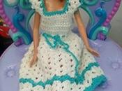 ¿Cómo luce Barbie prenda tejida crochet? (How looks with crocheted outfit?)