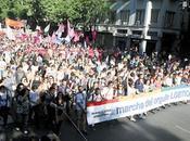 Buenos Aires. Marcha Orgullo LGBTIQ marcado acento político.