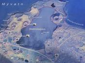 Cráteres Skútustaðir Myvatn