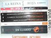 Blog Book Haul: Septiembre, Octubre