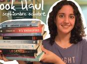 Book Haul Septiembre-Octubre