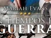 Novedad Ediciones Kiwi Noviembre; tiempo guerra, Mariah Evans
