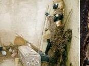 apertura tumba Tutankamon 1922 color.