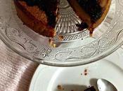 Tarta chocolate blanco avellanas arándanos