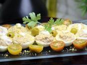 Huevos rellenos Receta casera