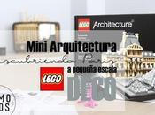Mini arquitectura Lego. Juguemos niños
